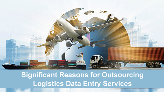 logistics data entry services