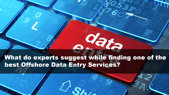 Offshore Data Entry Services