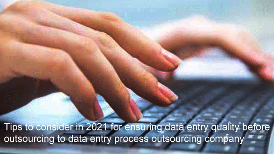 data entry process outsourcing company