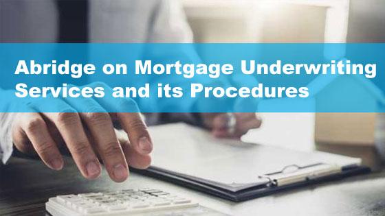 contract mortgage underwriter
