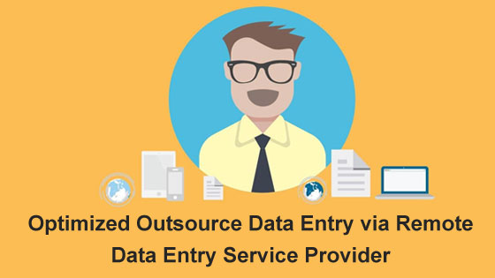 remote-data entry service provider